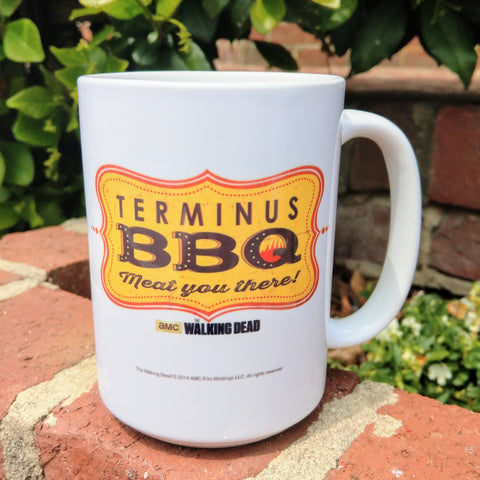 Terminus BBQ Mug - Meat You There!