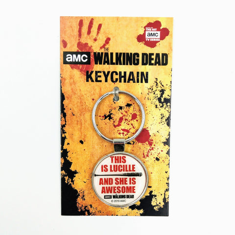 Lucille is Awesome - Ata Boy Keychain