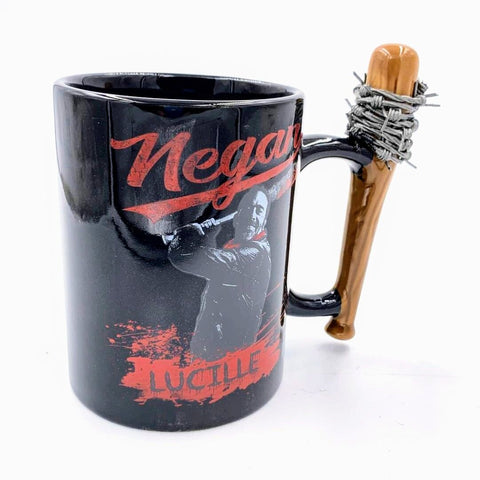 Glossy Red Negan & Lucille 15oz Mug