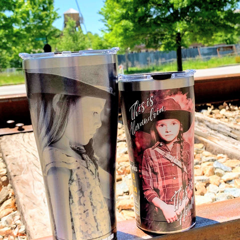 This is Alexandria, Judith Grimes Stainless Steel Tervis
