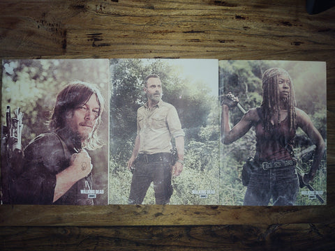 TWD 3 Pack Journals