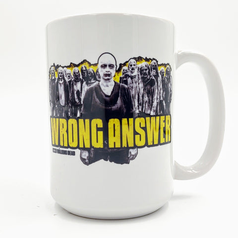 Whisperers Mug - Wrong Answer