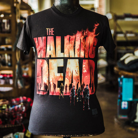 TWD Fire Logo T-Shirt
