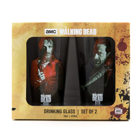 Rick/Negan Pint Glass Set