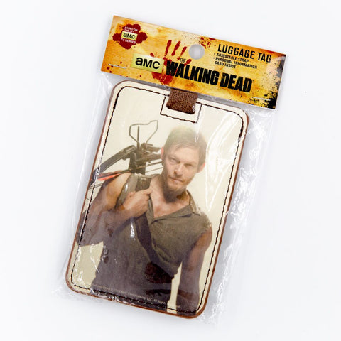 Young Daryl Luggage Tag