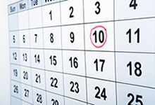 Calendar Image. Click here to go to class schedule and registration.
