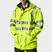 GAME- 6 In 1 Hi VIZ Jacket- 8080-T