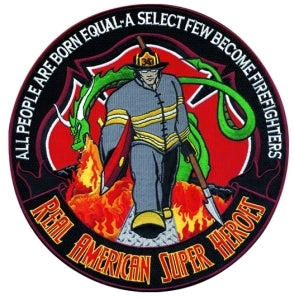 Hero's Pride Firefighter Collector Patch