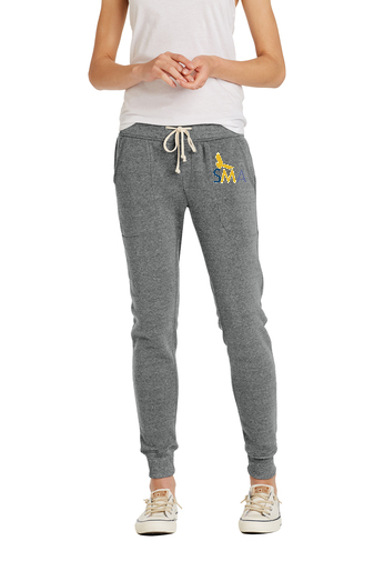 SMA Alternative Ladies Jogger Eco™-Fleece Pant - Grey AA31082