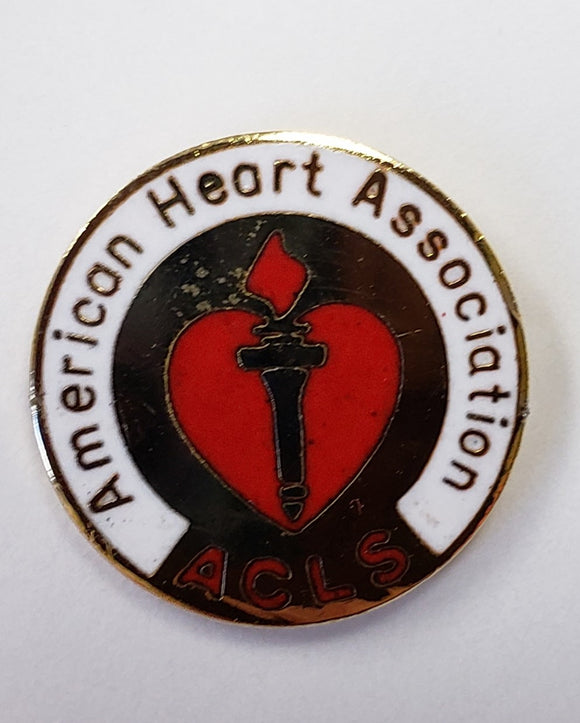 American Heart Association ACLS Pin- 122818A
