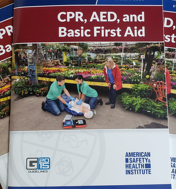 ASHI CPR, AED, and Basic First Aid Student Book