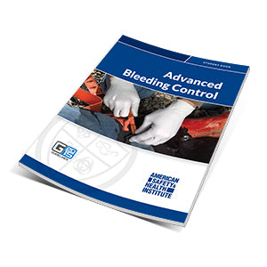 ASHI Advanced Bleeding Control Certification Cards (Sheet of 5)- ECABC-15