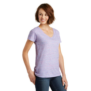 District ® Women's Cosmic V-Neck Tee