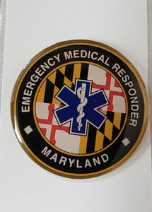Emergency Medical Responder (MIEMSS) Pin