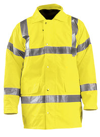 OccuNomix Hi-Viz Yellow Polyester 5-in-1 Jacket
