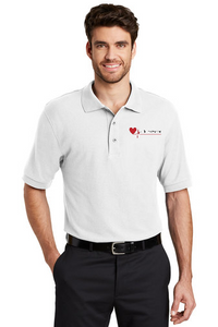 Mens CPR Instructor Short Sleeve Silk Touch™ Polo- K500/INS