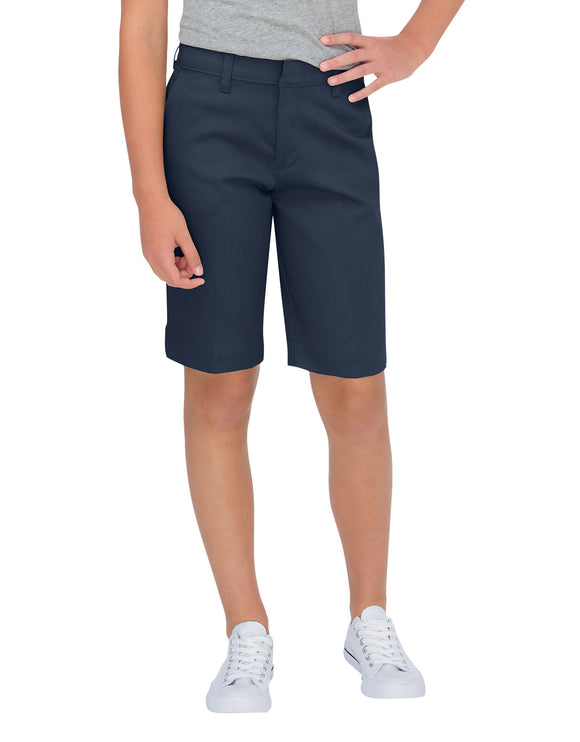 Girls Classic Bermuda Stretch Shorts (Plus)-KR0014