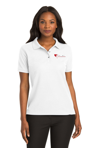 Ladies CPR Instructor Short Sleeve Silk Touch™ Polo-L500/INS