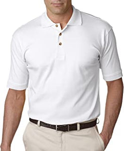 UltraClub Egyptian Interlock Mens Instructor Polo