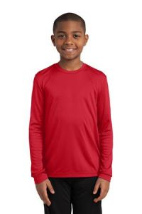 Youth PosiCharge Competitor Long Sleeve Tee-YST350LS
