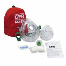 Adult & Infant CPR Mask Combo in Soft Case- 20-119