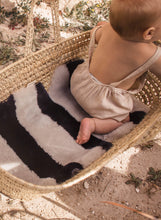 Load image into Gallery viewer, Stripe Sheepskin Buggy Liners