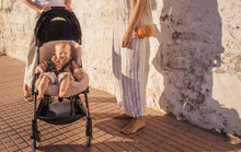Load image into Gallery viewer, Pink Sheepskin Pram Liners