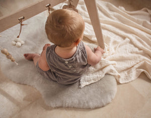 Baby Playmat in Moon Grey