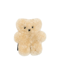 sheepskin teddy bear in honey