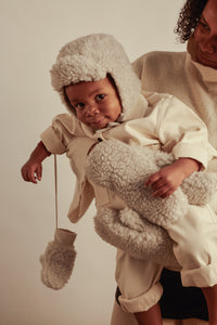 merino baby hat by Binibamba in our signature teddy merino