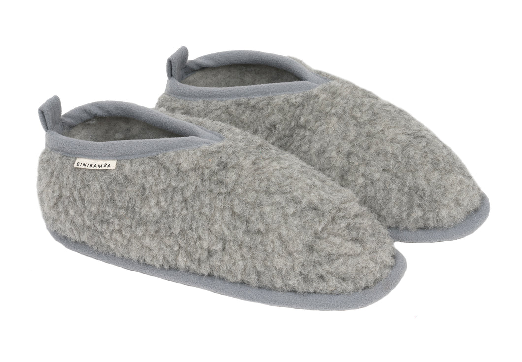 Pebble merino slippers smallable x Binibamba exclusive