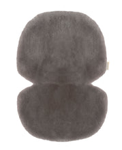 Load image into Gallery viewer, Sheepskin Buggy Liner in Elephant Grey