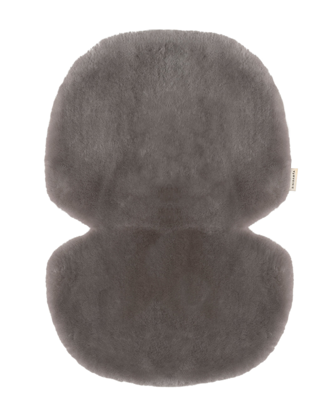 Sheepskin Buggy Liner in Elephant Grey