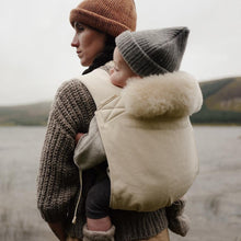 Load image into Gallery viewer, sheepskin baby liner for baby carrier