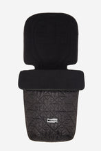 Load image into Gallery viewer, Binibamba footmuff in black quilted design
