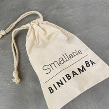 Load image into Gallery viewer, smallable limited edition binibamba baby bootie dustbag