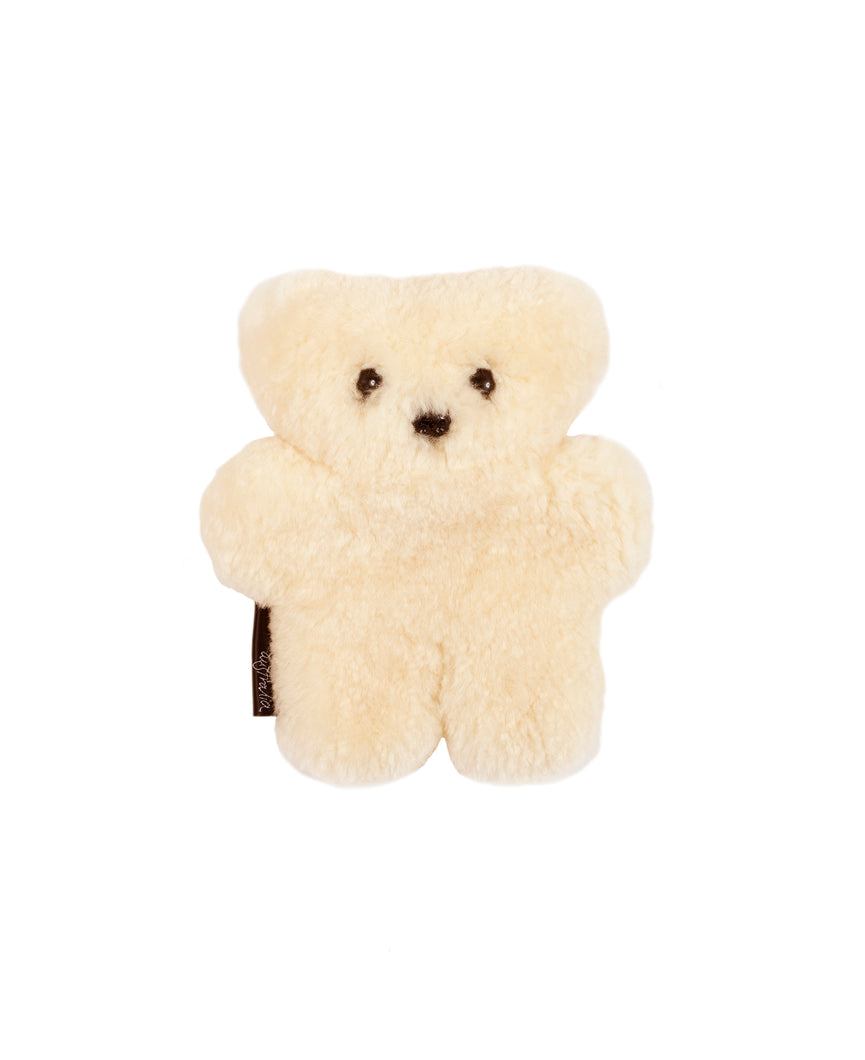 BABYBEAR SHEEPSKIN BINIBEAR TEDDY BEAR