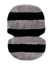 Load image into Gallery viewer, Stripe Sheepskin Buggy Liner