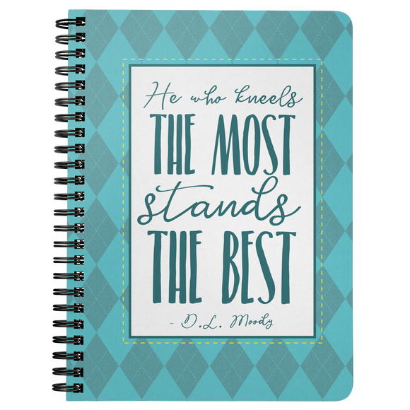 Blogging Notebook - DL Moody Quote