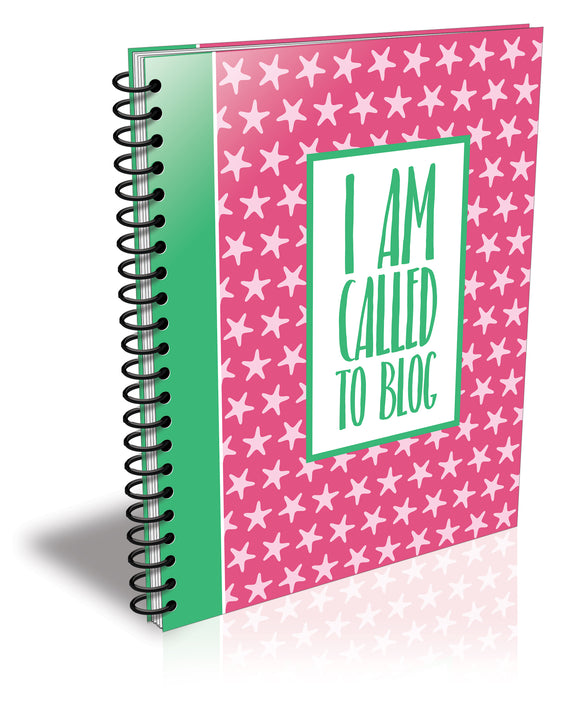 I Am Called to Blog Planner: Stars