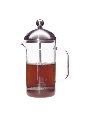 Trendglas Jena French Press, Kaffeebereiter aus Glas (350 ml)
