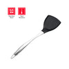 HYTX Heat Resistant Silicone Spatula With Stainless Steel Handle