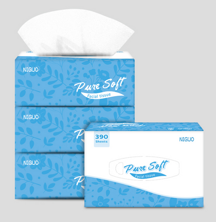 Soft Tissues 390 sheet/box