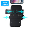 HYTX Wireless Cell Phone Car Charger / Holder -  Fast Charging, Auto Clamping, Air Vent Mount for iPhone 11, 11 Pro, 11 Pro Max, ,Xs, MAX, XS, XR, X, 8 Plus, Samsung Galaxy S10+ S9+ S8 Note 9, etc