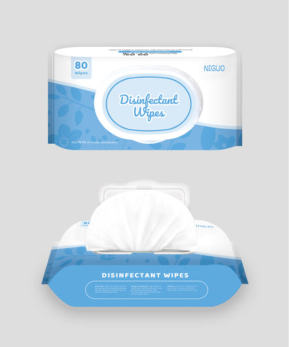 80pcs Disinfectant Wipes