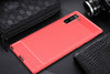 HYTX Galaxy Note 10 Case Carbon Fiber ( Red )