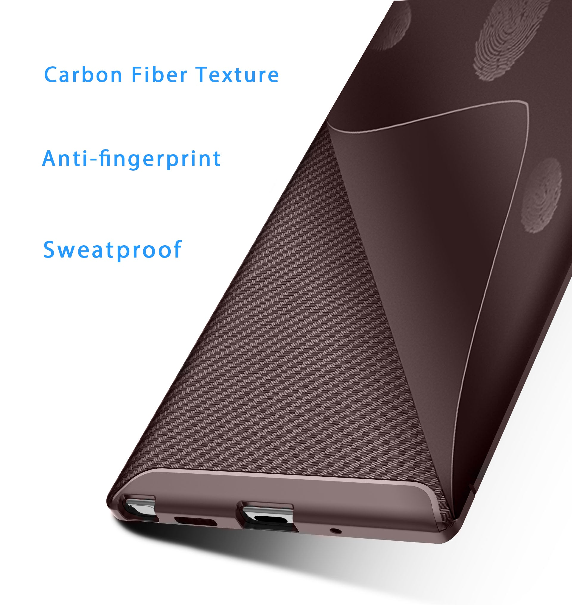 HYTX Galaxy Note 10+ Case Beetle ( Brown )