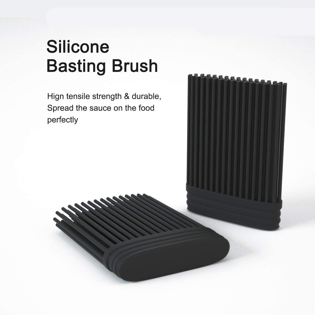 HYTX Stainless Steel Silicone Brush (Short Head)