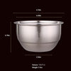 HYTX 13Oz Stainless Steel Bowl with Lid