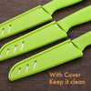 HYTX 8-Inch Fruit Knife with Cover (3 PK)